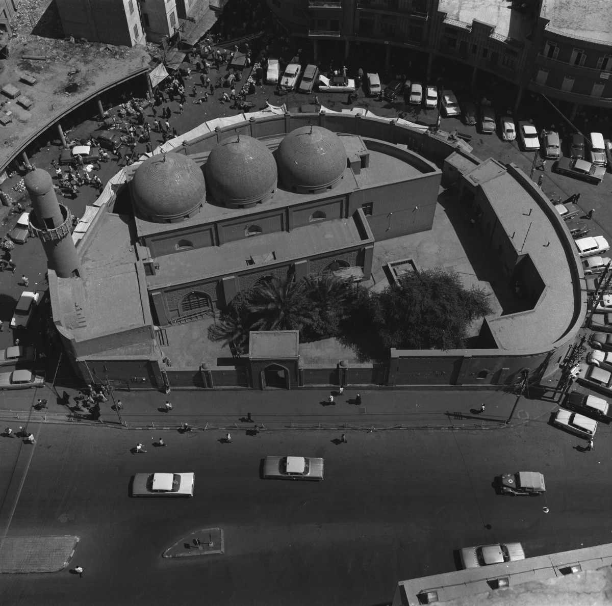 Mirjan Mosque, 1960. Courtesy of the artist and Arab Image Foundation.