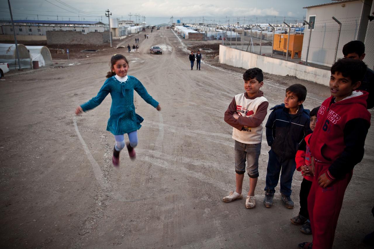 Camp Shariya. Photo: Akam Shex Hadi/Ruya Foundation.