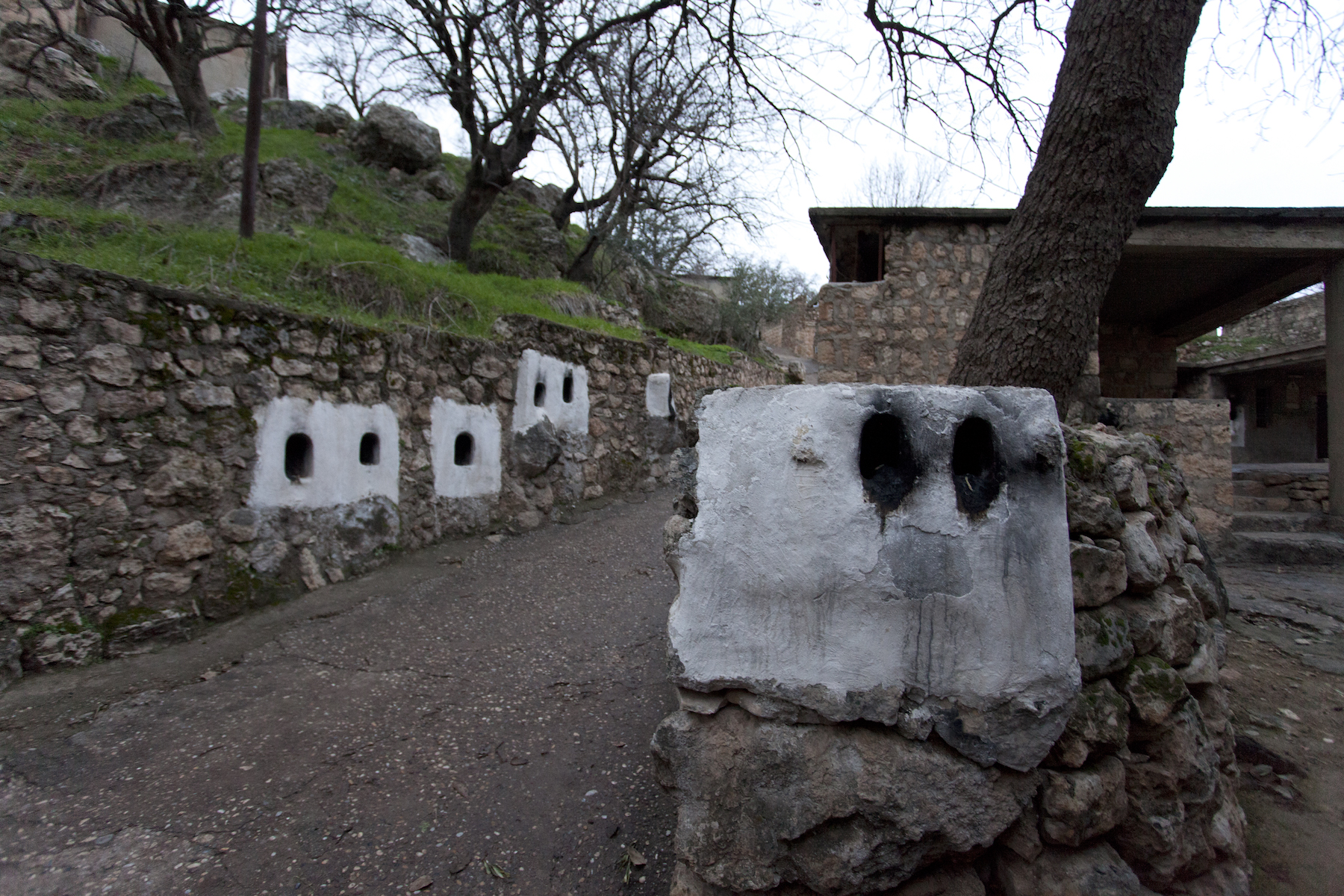 Along the Lalish pilgrimage trail. Photo: Akam Shex Hadi/Ruya Foundation.