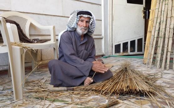 Hand-made cordage produced in Ain Tamr, Karbala. Photo: Rashad Salim, 2016.