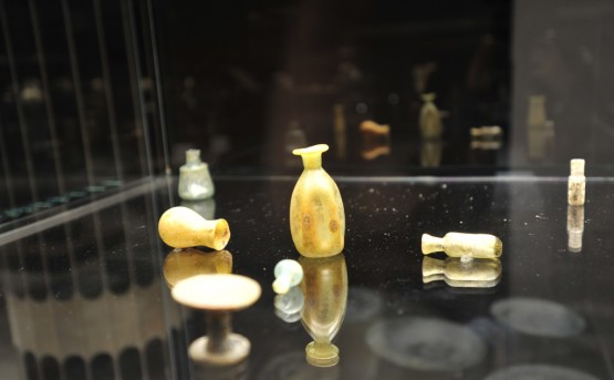 The Basra Museum's first gallery includes over 440 objects excavated from sites in Basra and Southern Iraq.  (c) UNAMI PIO.