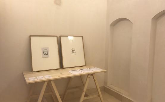 Haider Jabbar's work in the Salih Chalabi House