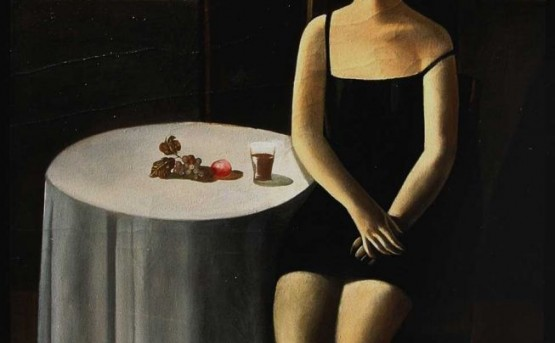 Afifa Aleiby, Girl at the Bar, 1995. Courtesy of the artist.