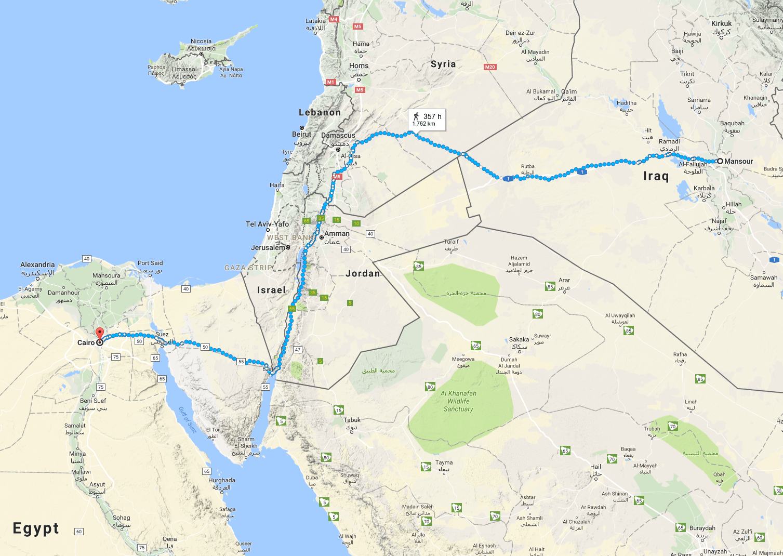 Mansoor_Egypt_Walk