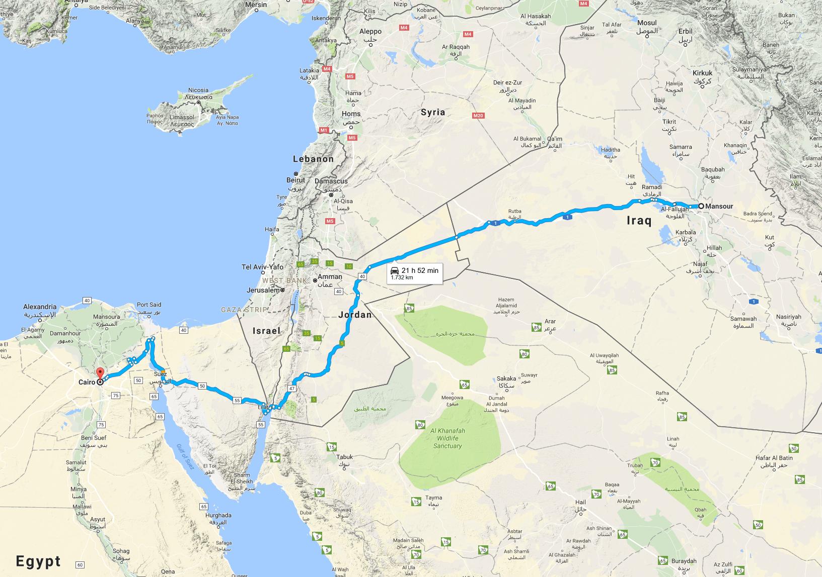 Mansour_Egypt_Drive
